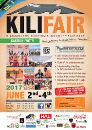 the kilimanjaro tourism fair kilifair 2017 save the date