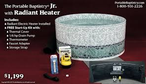 portable baptismal pools testimonials church baptistry baptistery heaters portable