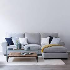 stylish living room design with divan sofa