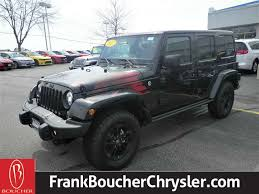 jeep wrangler in the winter 2017 jeep wrangler unlimited sport utility in