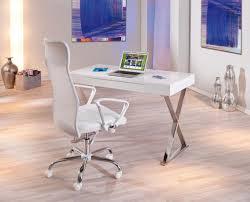 Computer Schreibtisch H Enverstellbar Schreibtisch Weiß Hochglanz Computertisch Pc Tisch Real