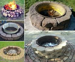 Fire Pit Diy Amp Ideas Diy 30 Diy Fire Pit Ideas And Tutorials For Your Backyard