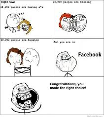 Forever Alone Guy Meme - forever alone facebook edition weknowmemes