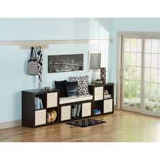 Walmart Entryway Furniture Better Homes And Gardens 11 Cube Organizer Wall Unit Multiple