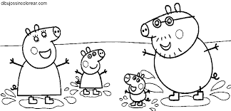 peppa pig 52 dessins animés u2013 coloriages à imprimer