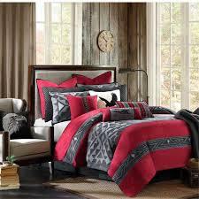 Red And Grey Comforter Sets Comforter Dorm Bedding Sets Nyc Furnitures Planetown Black