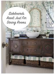 sideboards aren u0027t just for dining rooms confettistyle