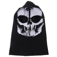 Call Duty Ghost Halloween Costume Call Duty 10 Ghost Balaclava Motorcycle Cycling Game Airsoft