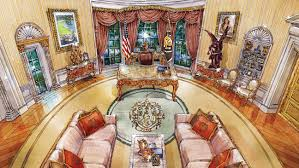 cherubs marble and louis xiv what donald trump u0027s oval office