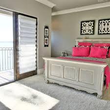Pink Black U0026 White Teen by Pink Black And White Girls Bedroom With Design Pictures Remodel
