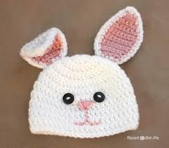 free crochet pattern for easter bunny hat dancox for