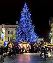 christmas in liverpool market one dinner tree lights 2016 2017
