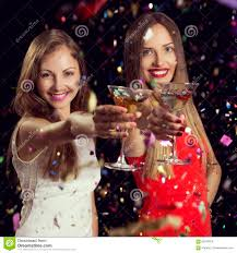 Martini Toast Stock Photo Image 83079319