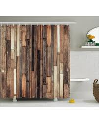 Shower Curtains Rustic Shower Curtain Floor Rustic Style Print For Bathroom