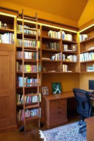 Bookshelves Library Bookcase Library Bookshelves With Rolling Ladder Library