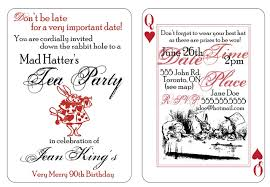 mad hatters tea party invitation template these are printable