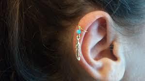 diamond helix stud gold helix hoop earrings 73 amazing earring helix image ideas