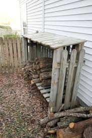 Diy Firewood Storage Shed Plans by Building A Wood Shed From Old Fence Woods Craft And Fence Boards