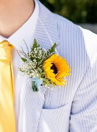sunflower corsage diy wedding flowers sunflowers sunflower wedding flowers