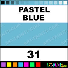 Blue Paints Pastel Blue Wax Colours Encaustic Wax Beeswax Paints 31 Pastel