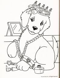 lisa frank puppy colouring pages in lisa frank coloring pages