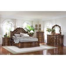 Piece Queen Bedroom Set In Brown Cherry Nebraska Furniture - Furniture mart bedroom sets