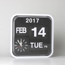 flip clock calendar ebay