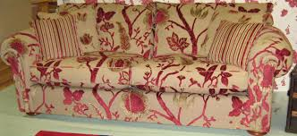 Red Floral Sofa by Duresta Sale May 2012