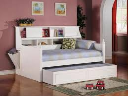 Boys Daybed Bedroom Teennick Full Daybed With Shelves For Modern Kids Room