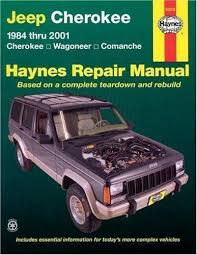 jeep repair manual haynes repair manual jeep 1984 thru 2001