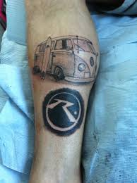 vw camper tattoo my funky hippie style pinterest tattoo