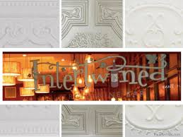 ceiling gorgeous faux faux tin ceiling tiles with leather panels