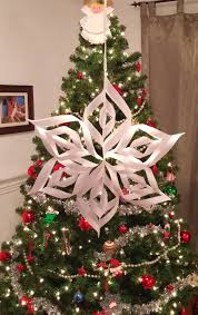 make your own paper star christmas decoration toronto teacher mom
