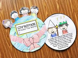 christmas around the world art projects for preschool