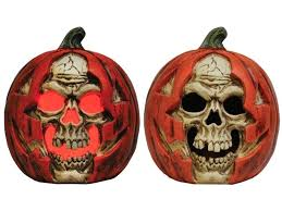 light up pumpkins for halloween light up pumpkin decorations durable creepy skull appearing to