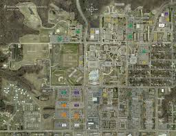Michigan State University Campus Map by Minnesota State University Mankato