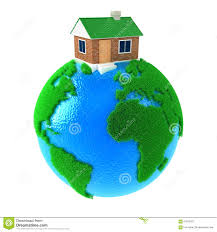 House Planet by Planet With House Stock Illustration Image 67616267