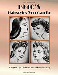 1940s hair styles for medium length straight hair 1940s hairstyles vintage living daniela turudich 9781930064003