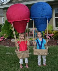 unique easy halloween costume ideas homemade twin air balloons costumes homemade costumes
