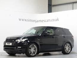 luxury black range rover used mariana black land rover range rover sport for sale derbyshire