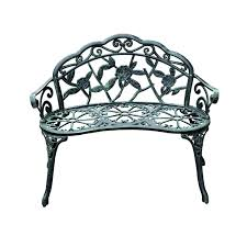 amazon com outsunny cast iron antique rose style outdoor patio