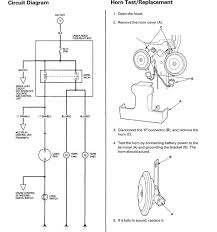 wiring diagram available for tracing horn wire honda accord