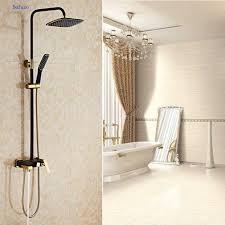 aliexpress com buy dofaso black bath tap vintage shower luxury