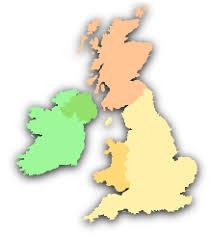 map uk ireland scotland cottages scotland wales ireland the cottage guide