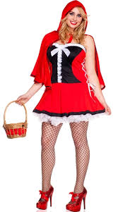 plus size lace up red riding hood costume plus size little red