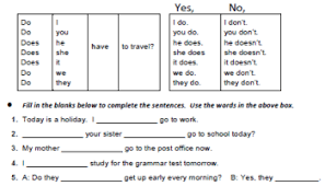 worksheets verb to have got u2013 show and text