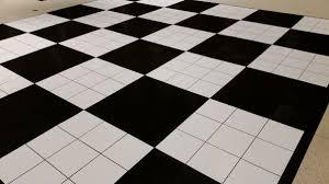 black white floors dpc event services