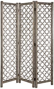 Quatrefoil Room Divider Uttermost Quatrefoil Aluminum 3 Panel Room Divider Screen