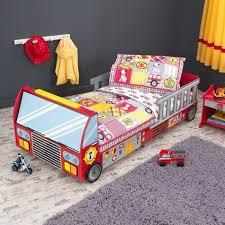Kidkraft Racecar Bookcase Kidkraft Fire Truck Toddler Bed 76021