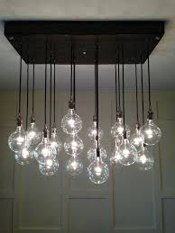 Large Glass Chandeliers Amazing Contemporary Glass Chandelier Custom Industrial Chandelier